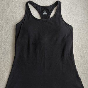 NIKE DRI-FIT Tank Top w/ built-in Bra Black size M